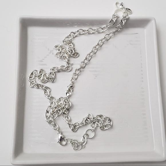 Origami Owl Jewelry 30 Silver Overtheheart Chain Poshmark